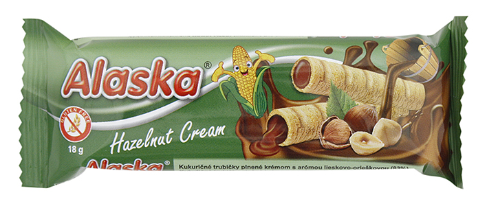 Alaska hazelnut cream
